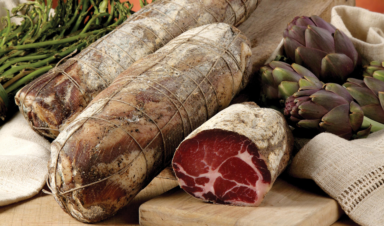 "Cured Pork ""Coppa"""