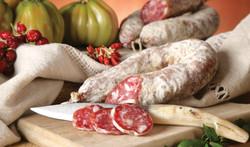 Sardinian sausage of pork