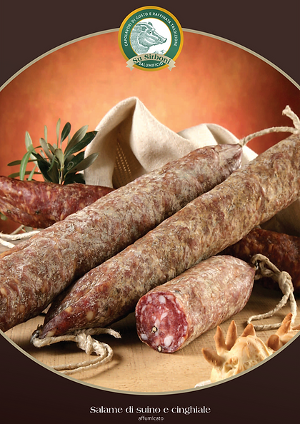 Smoked Pork and Wild Boar Salami