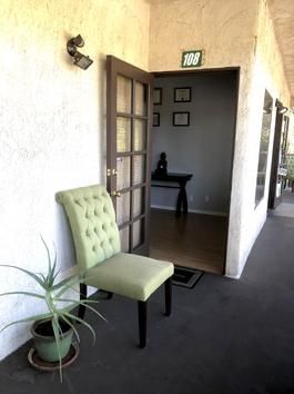 Ojai Office Entrance