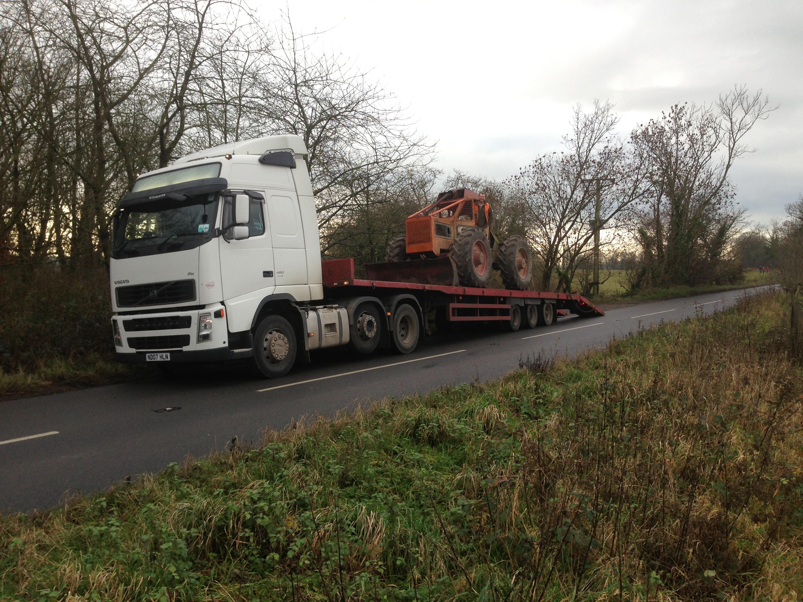 Tractor breakdown Bath