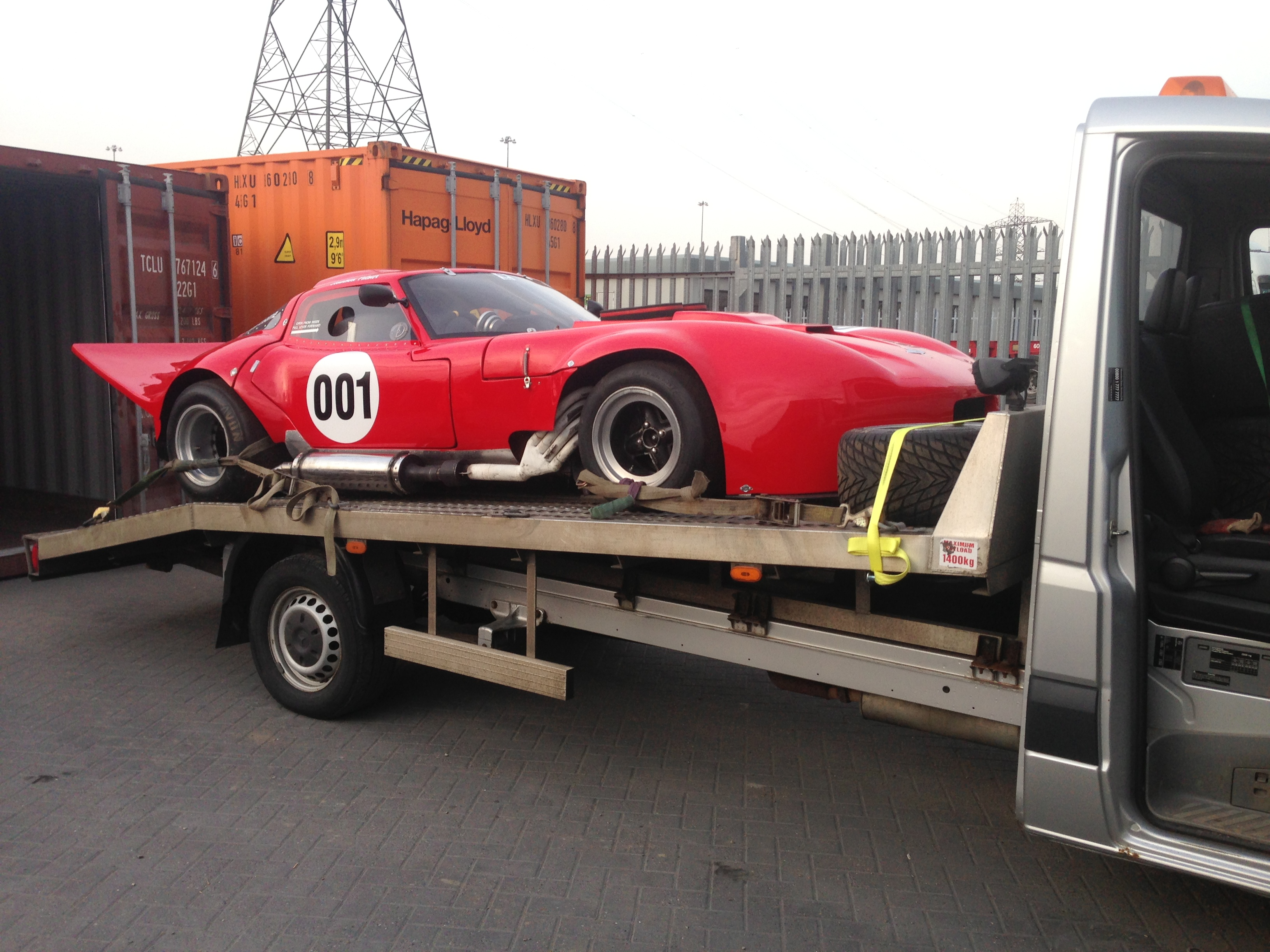 Car Transportation Export Container