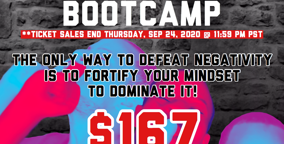 Fortify Your Positive Mindset! Virtual Bootcamp + FREE eBook