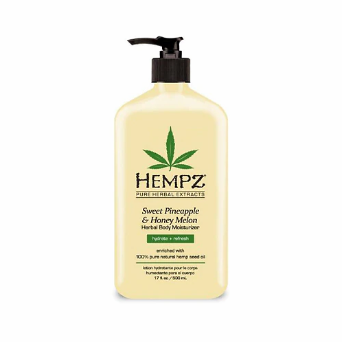 Hempz Pineapple & Honey Melon Herbal Moisturizer 17 fl oz
