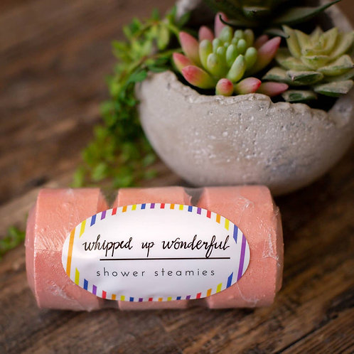 Whipped up Wonderful Love Shower Steamie - 3 Pack
