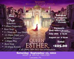 queen esther trip