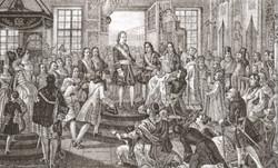Петр  I принимает титул Отца Отечества,