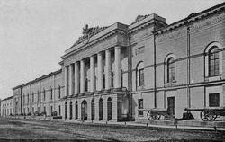 Здание Арсенал 1864. Петербург