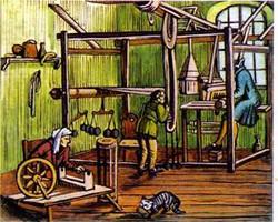 Ткацкая мануфактура 17 век