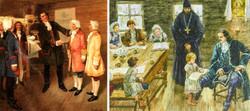 Первые школы и училища при Петре 1