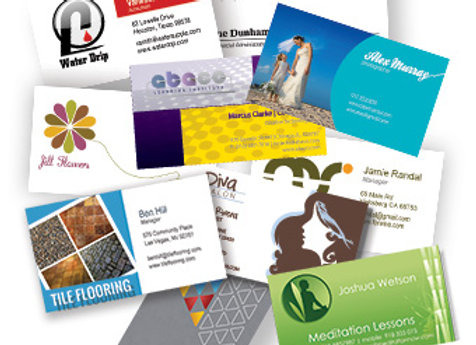 Tarjetas de negocios, Business Cards.