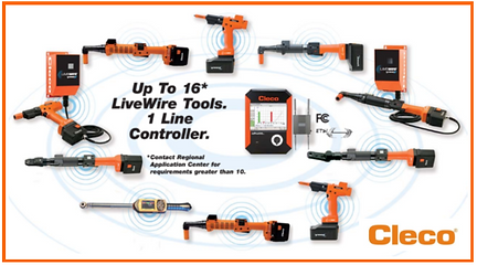 Cleco DC Tools, Cleco Livewire, Battery DC Tools, Livewire