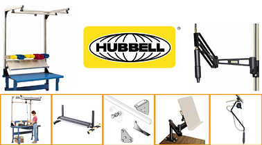 Industrial Workstations, Unex, Flowcell, AMD, Hubbell, Sovella, Lyon, Built Rite, Pucel, Tennsco, Jamco