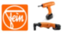 Battery Assembly Tools, Fein Battery TOols, Makita, Panasonic Clutch Tools, Bosch Angle Exact