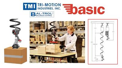 Baltrol, Bal-trol, Air Balancer, Pneumatic Balancer, Lift Assist, Hoist