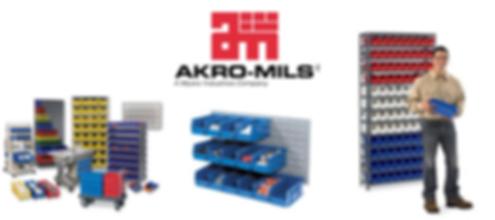 Bins, Parts Bins, Storage, Akro-Mils, Lewis Bins, Quantum, Durham, Pucel, Lyon, Jamco
