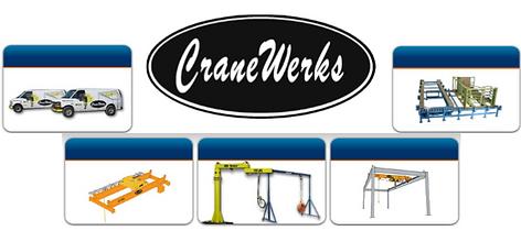 Hoist, Electric Hoist, Air HOist, Harrington Hoist, Harrington, Chain Hoist, CM, Coffing, Cranewerks, Jib, Gantry, Crane, Bridge Crane