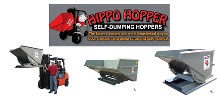 Hoppers, Machining Removal Hopper, Dump Hopper