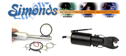 Simonds Tools, Crimping Tools, Pneumatic Crimping, Air Crimper, Cutting Tool, Pneumatic Cutting Tools