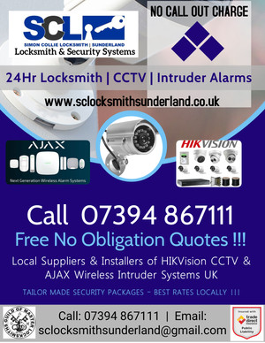 SCL Locksmith & Security Systems