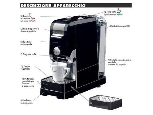 Pretty Macchina da Caffè Lui l'espresso