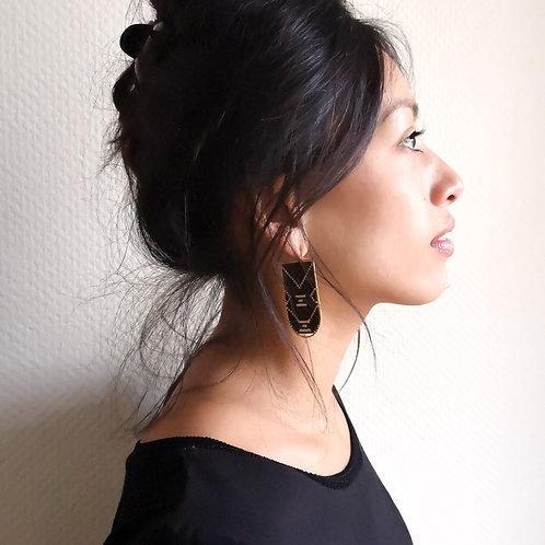 Bacara - Noir - écru