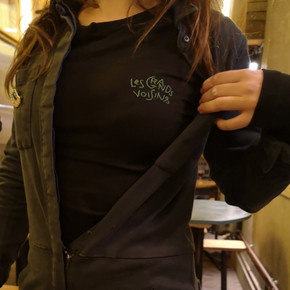 Tee-shirt personnalisé Logo des Grands Voisins