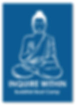 Buddhist Boot Camp Inquire Within Sticker
