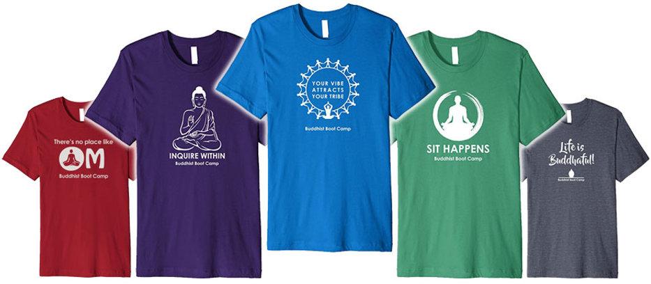 Buddhist Boot Camp Conscious Apparel