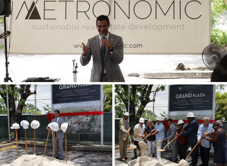 Grand Plaza Groundbreaking - An EVENT to REMEMBER!