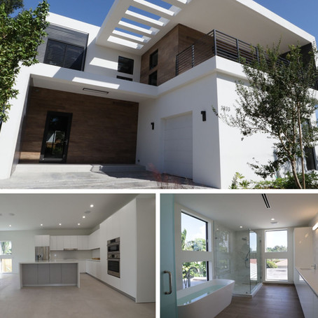 Newly Completed Homes in Coconut Grove