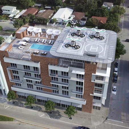 BISNOW Article on Passenger Drones in Miami Features Metronomic