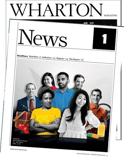 Wharton Magazine Article ConnectRship