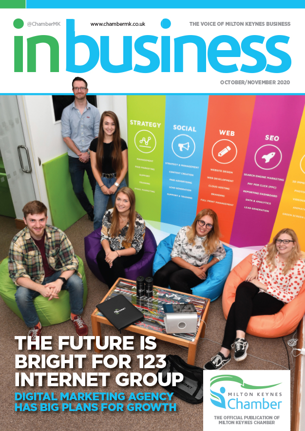 IN BIZ MK OCT NOV 2020 Cover