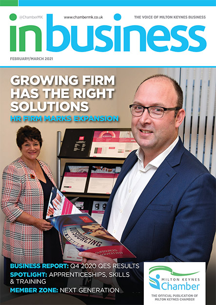 IN BIZ MK FEB MARCH 2021 Cover