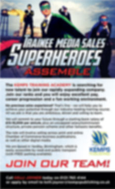 Trainee Media Sales job