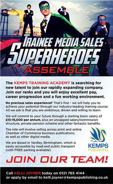 Trainee Media Sales job