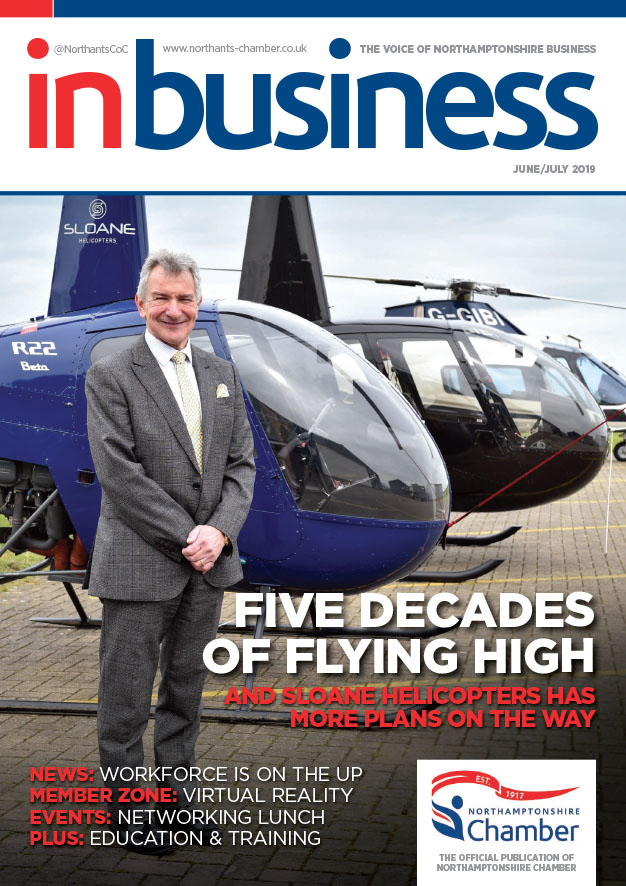 IN BIZ NC June July 2019 Cover