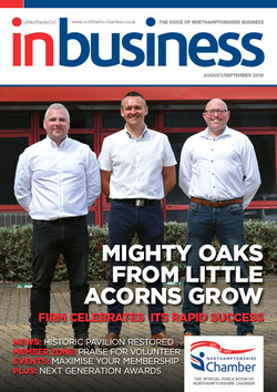 IN BIZ NC AUG SEPT 2019 Cover
