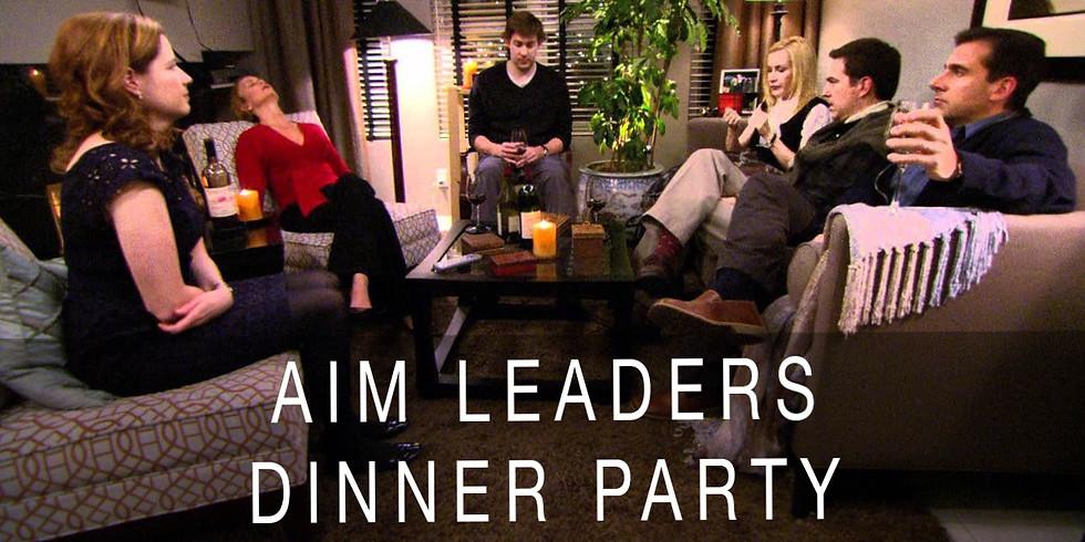 AIM Leaders Dinner Party