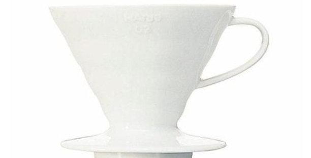 Hario Coffee Dripper V60 02 Ceramica Bianco