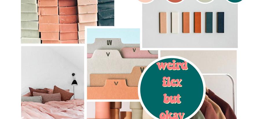 Comment créer une gamme de couleurs : Le moodboard