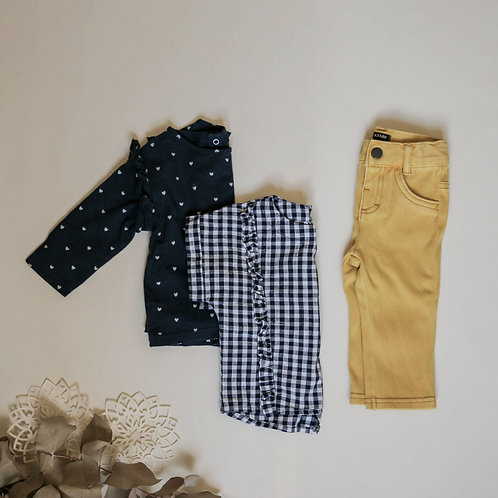 LE PETIT LOOK YELLOW - 6M