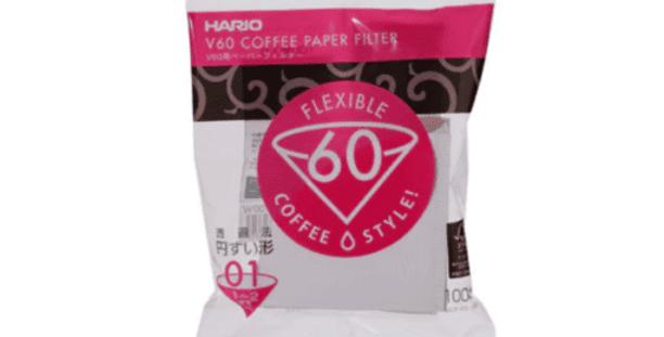 Hario Filtro Carta V60 1-2 tazze