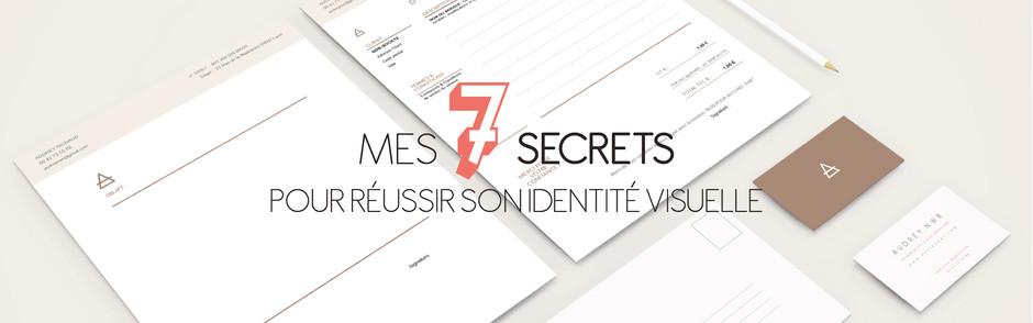 Mes secrets pour une identité visuelle réussie + la check-list à télécharger