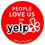 Image says people love us on yelp
