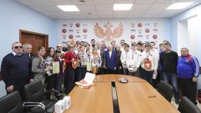 Федерация Слепых Футболистов - новый член СНВС России