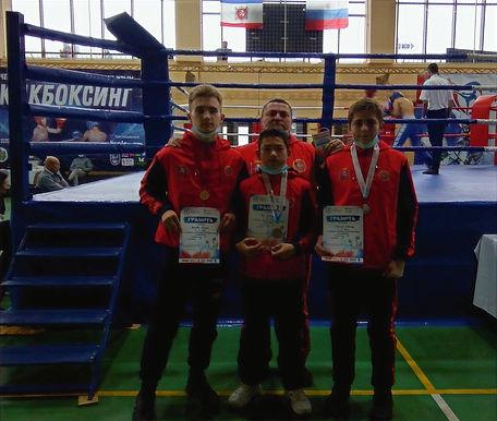 Три медали на Чемпионате и Первенстве Республики Крым по кикбоксингу