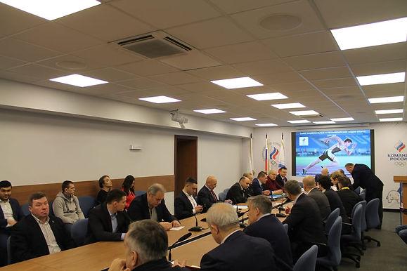 9 декабря в Олимпийском комитете России состоялось отчетно-выборное собрание СННВС