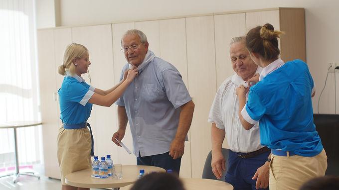 «Речной» встречался с знаменитыми спортсменами, олимпийскими чемпионами